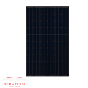 Seraphim 300W Mono 60 Cell All Black SEG-6MB-300BB X-Frame