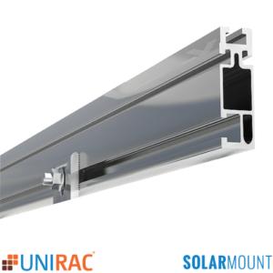 168 UNIRAC SolarMount Rail Silver Clear Mill 320132M 320168M 320208M 320240M